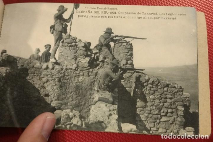 Postales: Block Recuerdo de la Campaña de el Rif 1921 Tauriat - Hamed, Kaddur y Taxarud Serie XIV - Foto 10 - 166601650