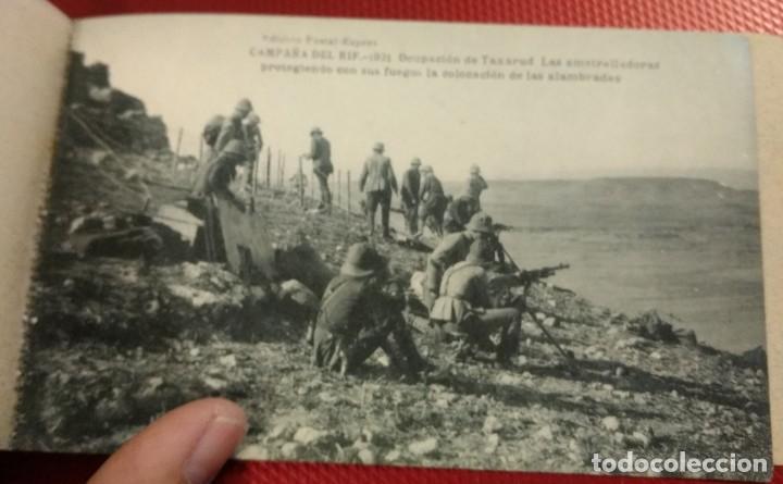 Postales: Block Recuerdo de la Campaña de el Rif 1921 Tauriat - Hamed, Kaddur y Taxarud Serie XIV - Foto 11 - 166601650