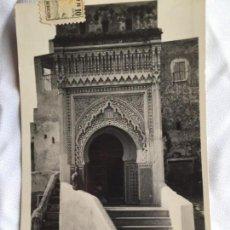 Postales: TETUAN. BARRIO MORO, CIRCULADA CON SELLO DE CENSURA MILITAR. Lote 166726046