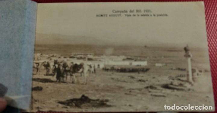 Postales: Recuerdo de la Campaña del Rif 1921, Serie VIII Monte Arruit. 10 postales. Postal Express Melilla. - Foto 6 - 166918860