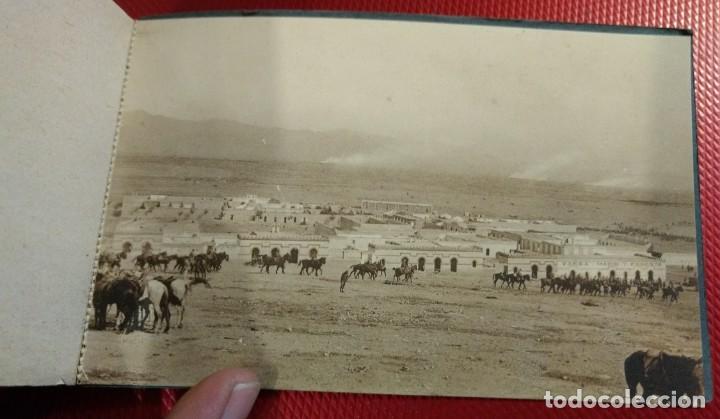 Postales: Recuerdo de la Campaña del Rif 1921, Serie VIII Monte Arruit. 10 postales. Postal Express Melilla. - Foto 11 - 166918860