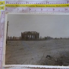 Postales: FOTO FOTOGRAFÍA DEL PROTECTORADO ESPAÑOL EN MARRUECOS. MELILLA MONTE ARRUIT. MONUMENTO HEROES. 1788. Lote 169828112