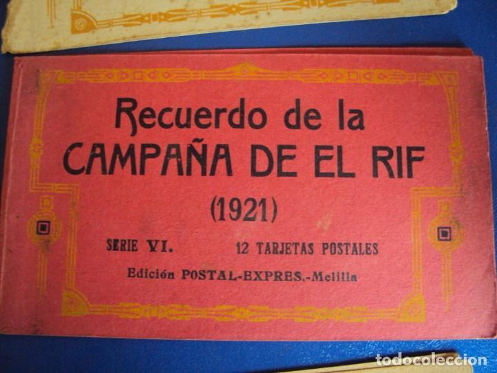 Postales: (PS-61406)LOTE DE 3 BLOCKS RECUERDO DE LA CAMPAÑA DE EL RIF MONTE ARRUIT 1921-SERIE III,VI Y VII - Foto 3 - 171243517