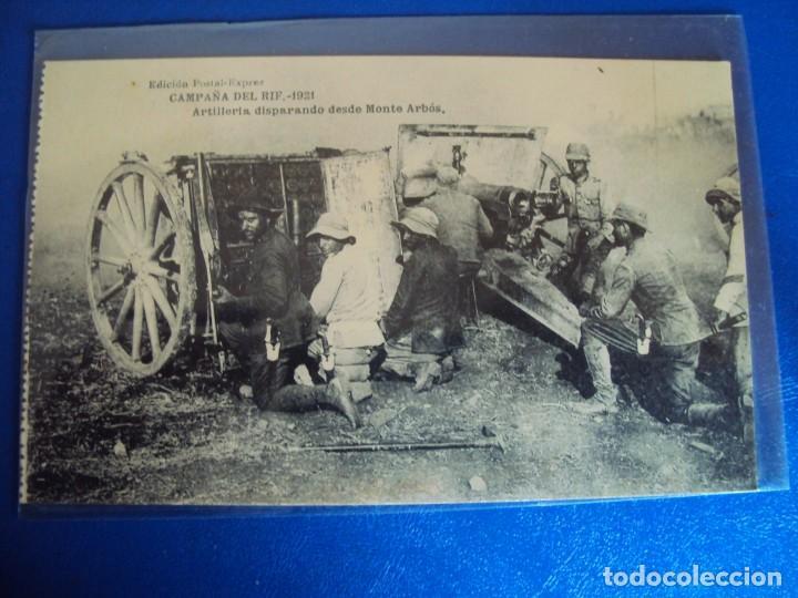 Postales: (PS-61406)LOTE DE 3 BLOCKS RECUERDO DE LA CAMPAÑA DE EL RIF MONTE ARRUIT 1921-SERIE III,VI Y VII - Foto 5 - 171243517