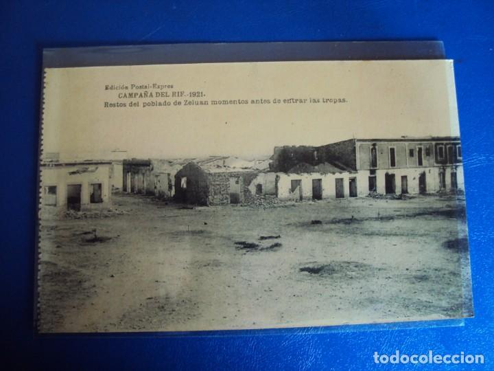 Postales: (PS-61406)LOTE DE 3 BLOCKS RECUERDO DE LA CAMPAÑA DE EL RIF MONTE ARRUIT 1921-SERIE III,VI Y VII - Foto 8 - 171243517