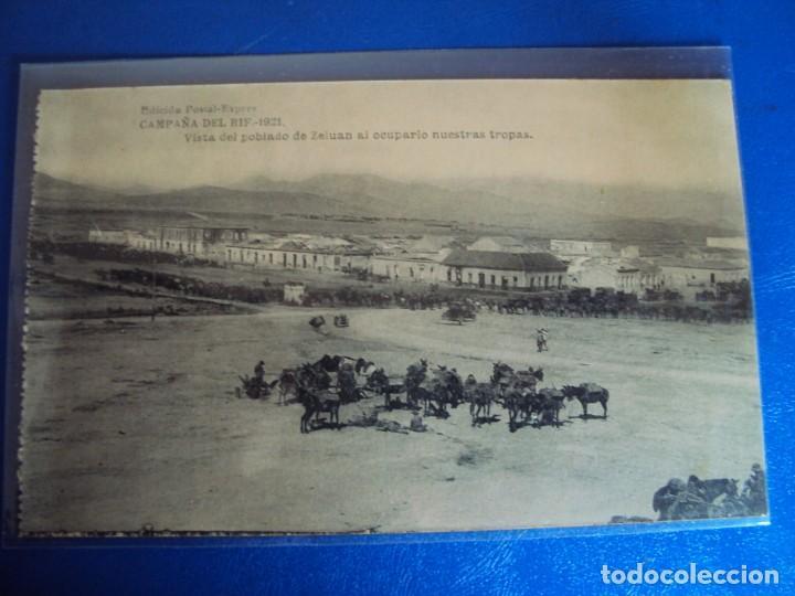 Postales: (PS-61406)LOTE DE 3 BLOCKS RECUERDO DE LA CAMPAÑA DE EL RIF MONTE ARRUIT 1921-SERIE III,VI Y VII - Foto 9 - 171243517