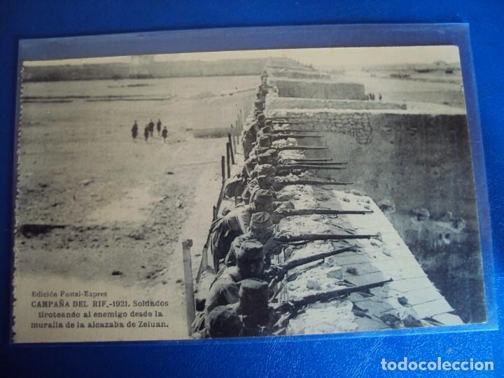 Postales: (PS-61406)LOTE DE 3 BLOCKS RECUERDO DE LA CAMPAÑA DE EL RIF MONTE ARRUIT 1921-SERIE III,VI Y VII - Foto 12 - 171243517