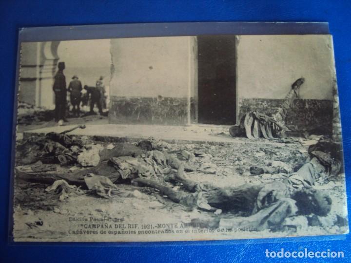 Postales: (PS-61406)LOTE DE 3 BLOCKS RECUERDO DE LA CAMPAÑA DE EL RIF MONTE ARRUIT 1921-SERIE III,VI Y VII - Foto 17 - 171243517