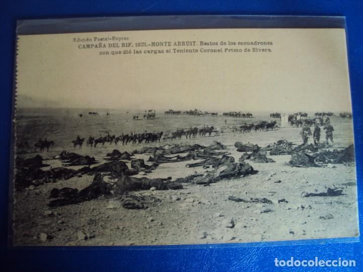 Postales: (PS-61406)LOTE DE 3 BLOCKS RECUERDO DE LA CAMPAÑA DE EL RIF MONTE ARRUIT 1921-SERIE III,VI Y VII - Foto 30 - 171243517