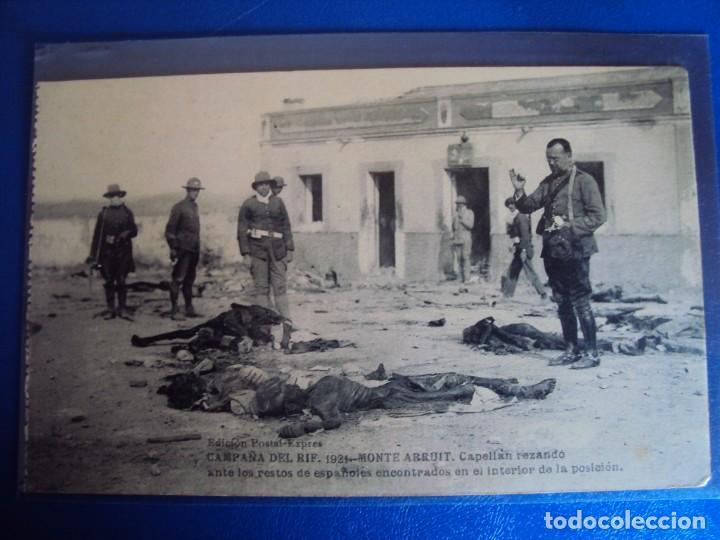 Postales: (PS-61406)LOTE DE 3 BLOCKS RECUERDO DE LA CAMPAÑA DE EL RIF MONTE ARRUIT 1921-SERIE III,VI Y VII - Foto 32 - 171243517