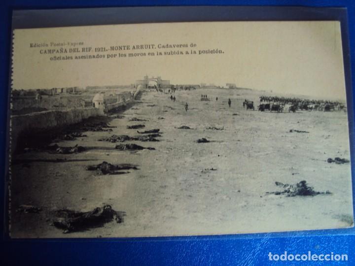 Postales: (PS-61406)LOTE DE 3 BLOCKS RECUERDO DE LA CAMPAÑA DE EL RIF MONTE ARRUIT 1921-SERIE III,VI Y VII - Foto 33 - 171243517