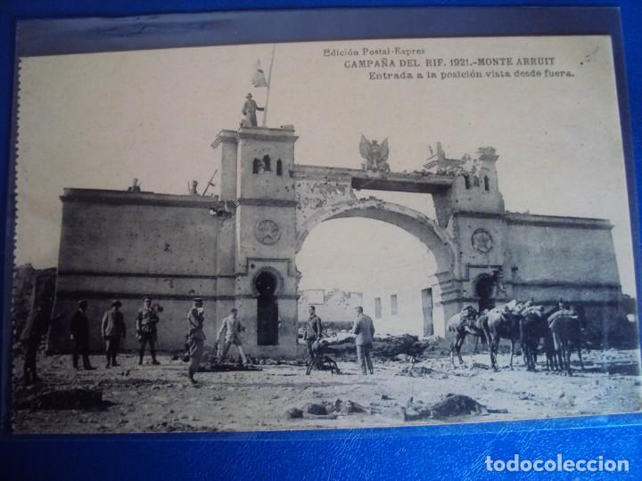 Postales: (PS-61406)LOTE DE 3 BLOCKS RECUERDO DE LA CAMPAÑA DE EL RIF MONTE ARRUIT 1921-SERIE III,VI Y VII - Foto 35 - 171243517