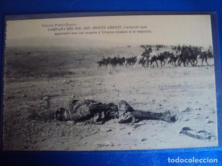 Postales: (PS-61406)LOTE DE 3 BLOCKS RECUERDO DE LA CAMPAÑA DE EL RIF MONTE ARRUIT 1921-SERIE III,VI Y VII - Foto 36 - 171243517