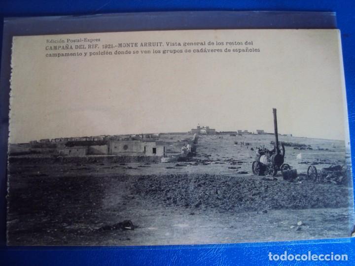 Postales: (PS-61406)LOTE DE 3 BLOCKS RECUERDO DE LA CAMPAÑA DE EL RIF MONTE ARRUIT 1921-SERIE III,VI Y VII - Foto 37 - 171243517