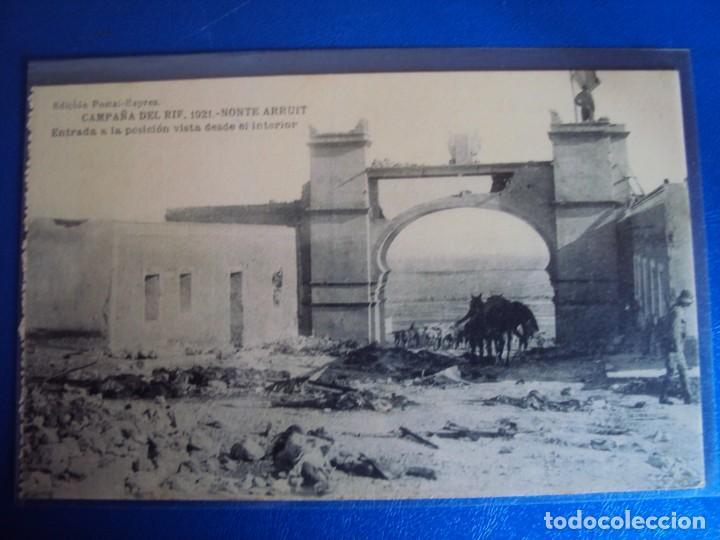 Postales: (PS-61406)LOTE DE 3 BLOCKS RECUERDO DE LA CAMPAÑA DE EL RIF MONTE ARRUIT 1921-SERIE III,VI Y VII - Foto 38 - 171243517