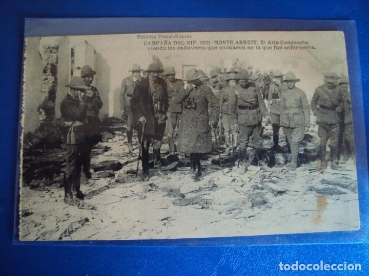 Postales: (PS-61407)BLOCK DE 12 POSTALES RECUERDO DE LA CAMPAÑA DE EL RIF-MONTE ARRUIT 1921 SERIE VII - Foto 4 - 171243599
