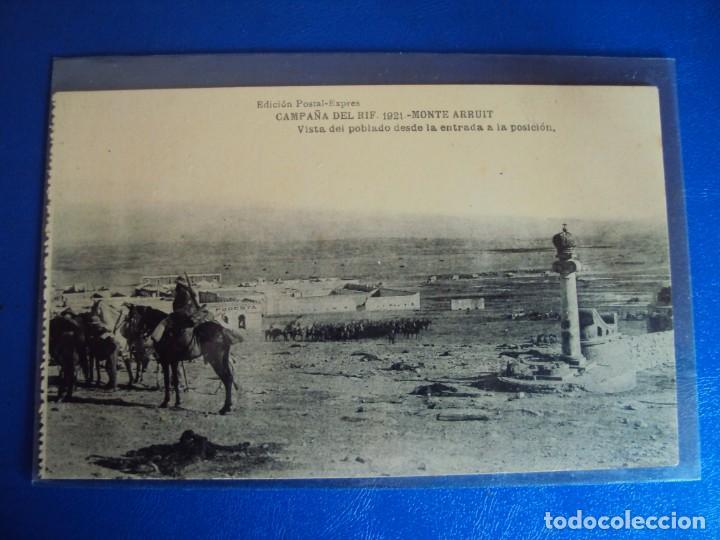 Postales: (PS-61407)BLOCK DE 12 POSTALES RECUERDO DE LA CAMPAÑA DE EL RIF-MONTE ARRUIT 1921 SERIE VII - Foto 5 - 171243599
