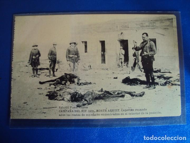 Postales: (PS-61407)BLOCK DE 12 POSTALES RECUERDO DE LA CAMPAÑA DE EL RIF-MONTE ARRUIT 1921 SERIE VII - Foto 6 - 171243599