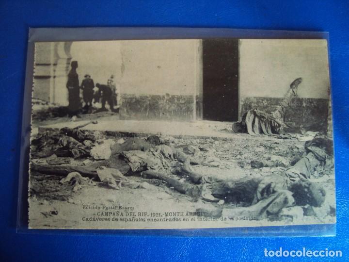 Postales: (PS-61407)BLOCK DE 12 POSTALES RECUERDO DE LA CAMPAÑA DE EL RIF-MONTE ARRUIT 1921 SERIE VII - Foto 7 - 171243599