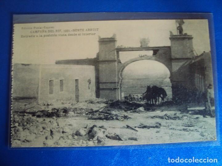 Postales: (PS-61407)BLOCK DE 12 POSTALES RECUERDO DE LA CAMPAÑA DE EL RIF-MONTE ARRUIT 1921 SERIE VII - Foto 8 - 171243599