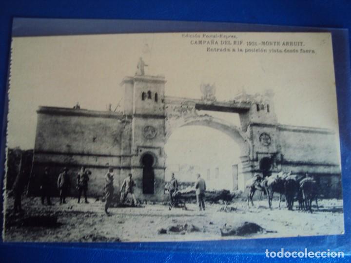 Postales: (PS-61407)BLOCK DE 12 POSTALES RECUERDO DE LA CAMPAÑA DE EL RIF-MONTE ARRUIT 1921 SERIE VII - Foto 9 - 171243599