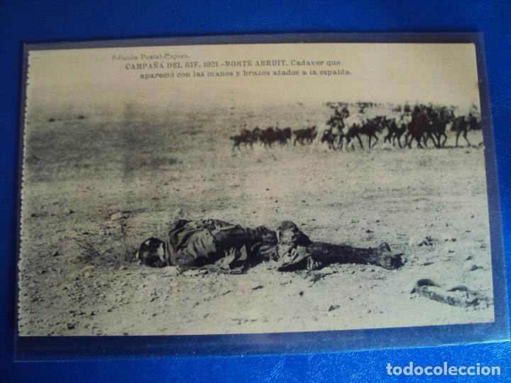 Postales: (PS-61407)BLOCK DE 12 POSTALES RECUERDO DE LA CAMPAÑA DE EL RIF-MONTE ARRUIT 1921 SERIE VII - Foto 10 - 171243599