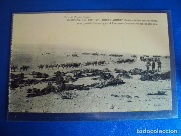 Postales: (PS-61407)BLOCK DE 12 POSTALES RECUERDO DE LA CAMPAÑA DE EL RIF-MONTE ARRUIT 1921 SERIE VII - Foto 11 - 171243599