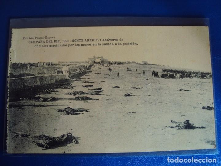 Postales: (PS-61407)BLOCK DE 12 POSTALES RECUERDO DE LA CAMPAÑA DE EL RIF-MONTE ARRUIT 1921 SERIE VII - Foto 13 - 171243599