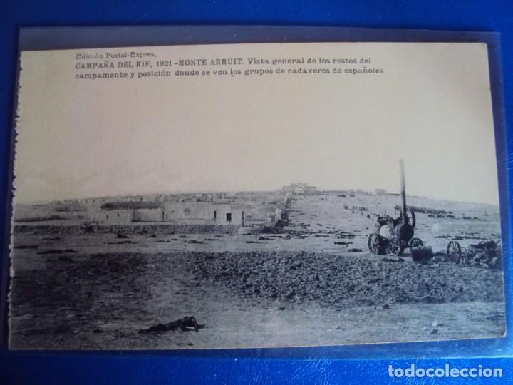 Postales: (PS-61407)BLOCK DE 12 POSTALES RECUERDO DE LA CAMPAÑA DE EL RIF-MONTE ARRUIT 1921 SERIE VII - Foto 14 - 171243599