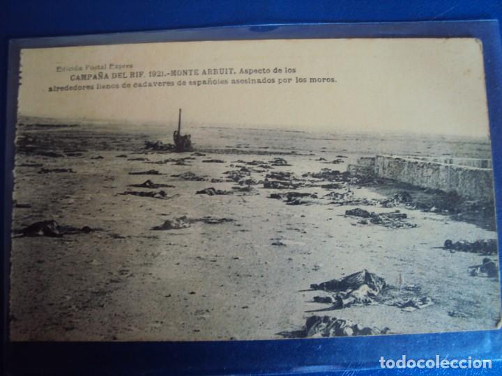 Postales: (PS-61407)BLOCK DE 12 POSTALES RECUERDO DE LA CAMPAÑA DE EL RIF-MONTE ARRUIT 1921 SERIE VII - Foto 15 - 171243599