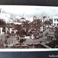 Postales: TETUAN PLAZA DE ESPAÑA. Lote 171426329