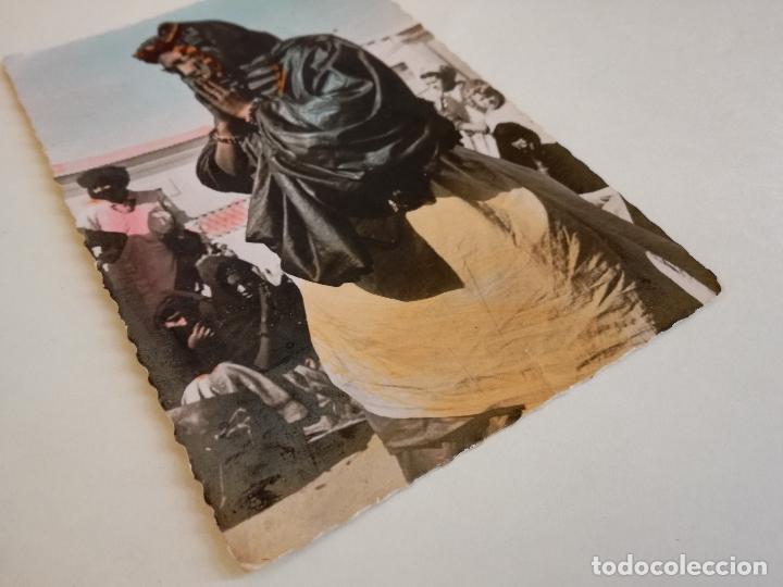 Postales: POSTAL COLOREADA PROTECTORADO AÑOS 50. SAHARA ESPAÑOL. MUJER DANZARINA INDÍGENA. FOTO PORRAS. - Foto 4 - 172236720