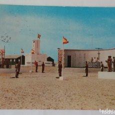 Postales: MISA DE CAMPAÑA EN EL BIR 1. AAIUN ( SAHARA). Lote 172427302