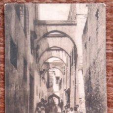 Postales: TETUAN - CALLE DEL BARRIO HEBREO. Lote 172811102