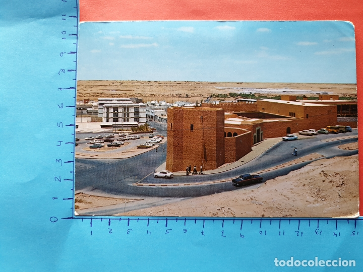 SAHARA ESPAÑOL ( TAXI Y COCHES DE LA EPOCA ) - ESCRITA ( NOV2019-2) (Postales - Postales Temáticas - Ex Colonias y Protectorado Español)