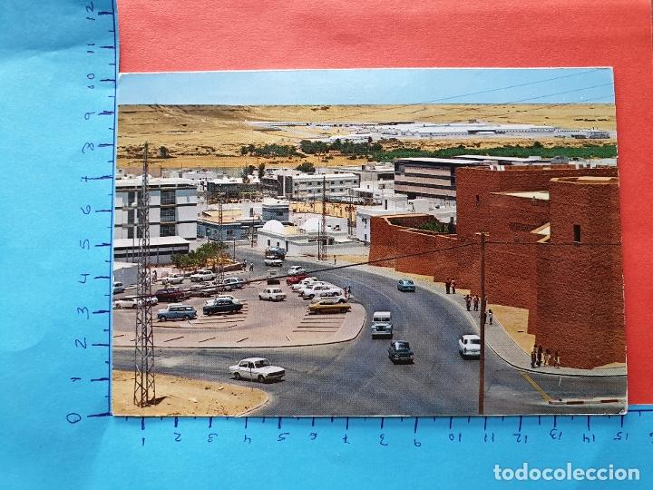 SAHARA ESPAÑOL ( LAND ROVER Y COCHES DE LA EPOCA ) - ESCRITA ( NOV2019-2) (Postales - Postales Temáticas - Ex Colonias y Protectorado Español)
