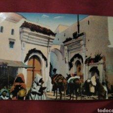 Postales: TETUÁN MEZQUITA DE MULEY MAHOMET. PROTECTORADO ESPAÑOL. Lote 176022549