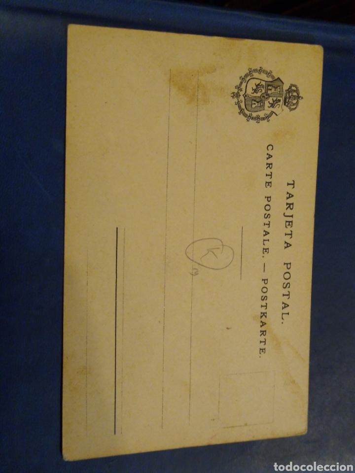 Postales: Fernando Poo Sra Isabel. Casa de empleados civiles. Thomas. 4 serie num 10 - Foto 2 - 178052210