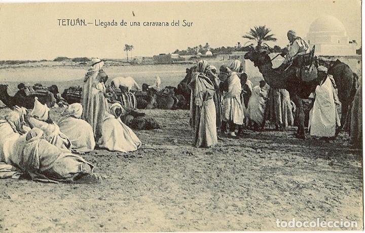 Postales: MAGNIFICA COLECCIÓN DE 18 ANTIGUAS POSTALES DE TETUAN, TANGER.... - Foto 2 - 178647330