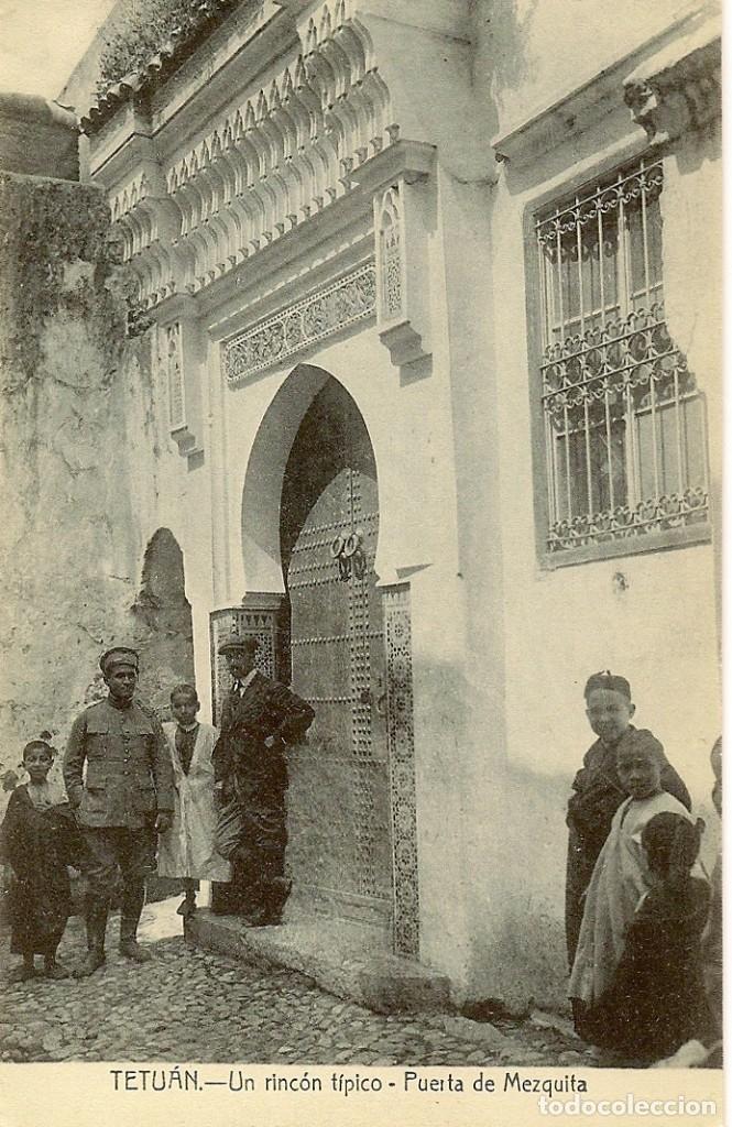 Postales: MAGNIFICA COLECCIÓN DE 18 ANTIGUAS POSTALES DE TETUAN, TANGER.... - Foto 7 - 178647330