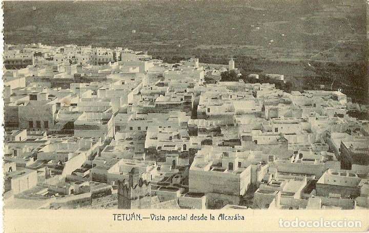Postales: MAGNIFICA COLECCIÓN DE 18 ANTIGUAS POSTALES DE TETUAN, TANGER.... - Foto 10 - 178647330