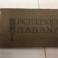 Postales: BLOC DE 21 POSTALES DE LA HABANA DE PRINCIPIOS DE SIGLO PICTURESQUE HABANA JORDI REPUBLICA DE CUBA. Lote 180866211