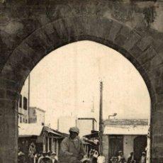 Cartes Postales: MAROC - CASABLANCA, PORTE BAB-EL-SOUK. Lote 182956490