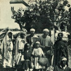 Postales: TANGER TANGIER A GROUP OF MOORS. Lote 182958787