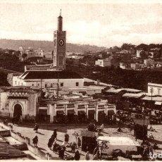 Postales: MOROCCO - TANGER - LE GRAND SOKKO ET LE MARSHAN TANGER TANGIER. Lote 182958905