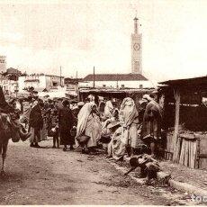 Postales: MOROCCO - TANGER - LE GRAND SOKKO TANGER TANGIER. Lote 182958945