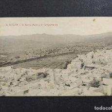 Postales: TETUAN-EL BARRIO MORO Y EL CAMPAMENTO-9-CLICHE ARRIBAS-POSTAL ANTIGUA-VER FOTOS-(64.366). Lote 183415556