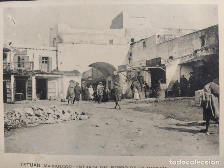Postales: TETUAN-ENTRADA DEL BARRIO DE LA MORERIA-ED·RECTORET-POSTAL ANTIGUA-VER FOTOS-(64.367) - Foto 2 - 183415903