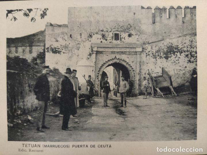 Postales: TETUAN-PUERTA DE CEUTA-ED·RECTORET-POSTAL ANTIGUA-VER FOTOS-(64.368) - Foto 2 - 183416063