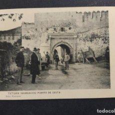Postales: TETUAN-PUERTA DE CEUTA-ED·RECTORET-POSTAL ANTIGUA-VER FOTOS-(64.368). Lote 183416063